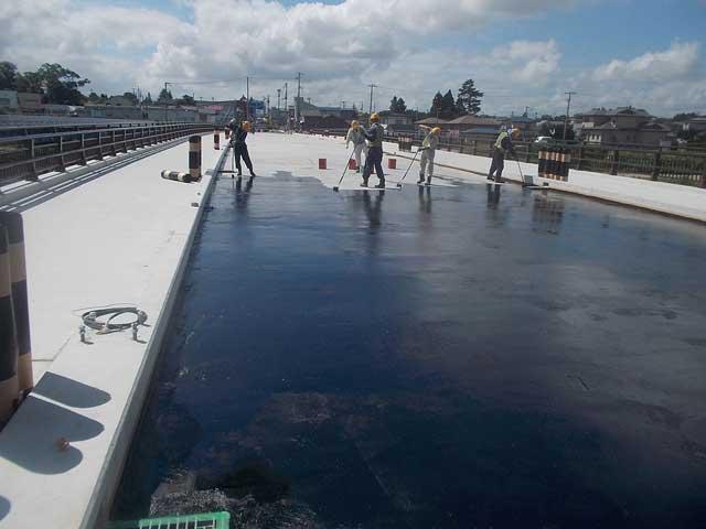 常温シート防水工法(フレッシュシート工法)画像2