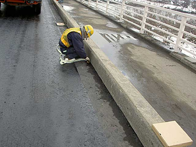 橋面防水関連商品<成型目地材>(セロシールSSテープ)