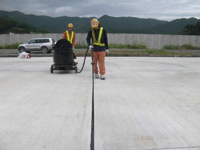 加熱注入式コンクリート目地材(セロシール、セロシールSS)