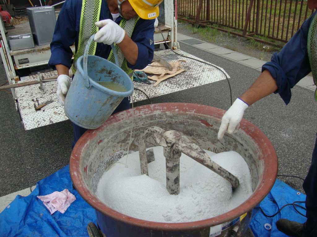 排水性レジンモルタル充填工法(PRMS工法)画像2