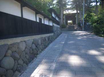 石畳風半たわみ性舗装(カラーファルトSP)画像2