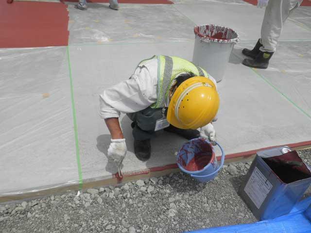 塗布式カラー舗装(カラーコート工法)画像4
