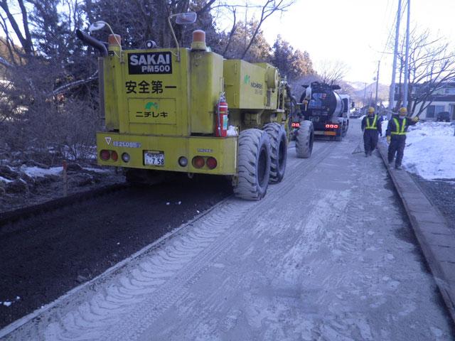 道路補修事業画像1