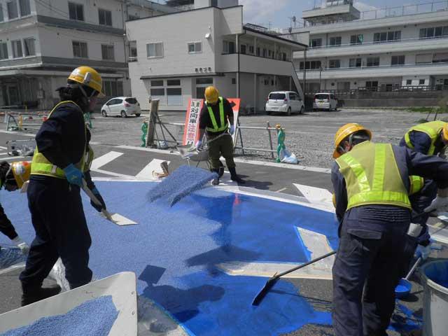 カラー舗装事業画像4